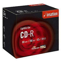 Imation CD-R LightScribe, 52x, NormJC, 10 ks