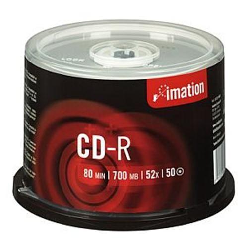 Imation CD-R 700MB/80min, 52x, CakeB, 50 ks