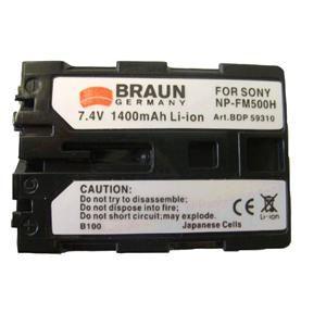 BRAUN akumulátor - SONY NP-FM500H