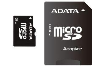 A-DATA 1GB MicroSD Card with Adaptor Speedy cena od 0,00 €