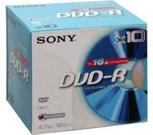 SONY DVD-R 10ks