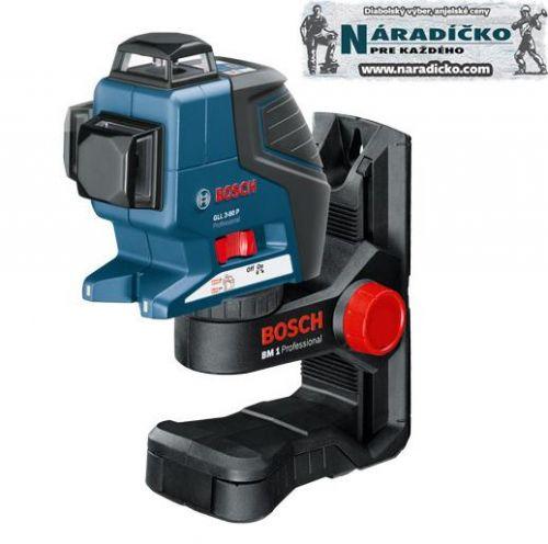 Bosch Ciarový laser GLL 3-80P + BM 1 0601063302