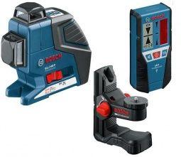 Bosch Ciarový laser GLL 3-80P + BM 1 + LR 2 0601063303