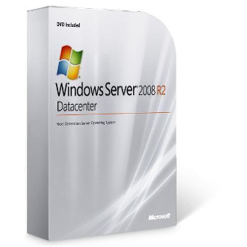 Microsoft OEM Windows Server Datacenter 2008 R2 64Bit x64 English DVD 2 CPU