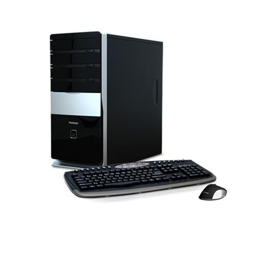 Prestigio Gamer E7500 (2,93G) NVGT240 4GB DDR3 500GB DVDRW CR HDMI KLV+MYS W7HP 64bit