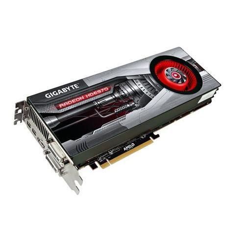 GIGABYTE HD6970 2GB (256) aktiv 2xDVI HDMI DDR5 cena od 0,00 €