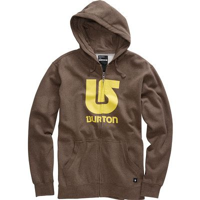 Burton Logo vertical heather havana