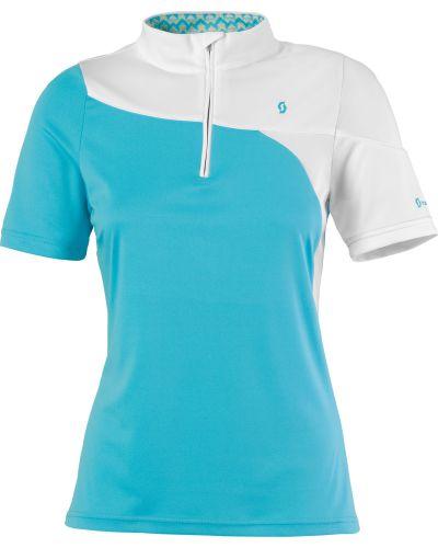 Scott Shirt Top W's Sky s/sl blue XL cena od 0,00 €