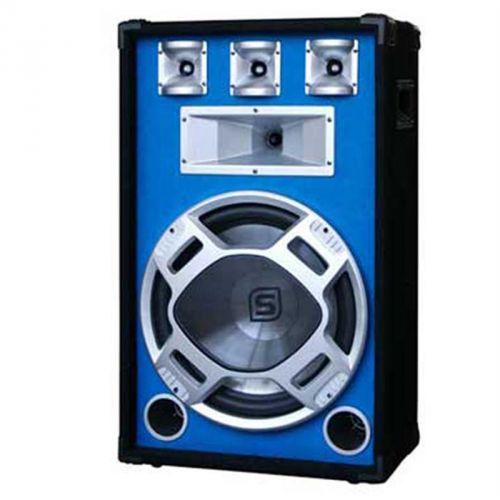 3-pásmový PA-Box Skytec, 38 cm, 800 W, modrý LED světelný efekt cena od 0,00 €