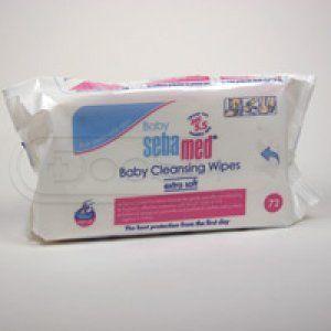 Sebamed dětské extra jemné čist.ubrousky 72ks