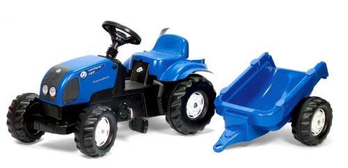 Rolly Toys Šlapací traktor Rolly Kid Landini modrý s vlekem cena od 0,00 €