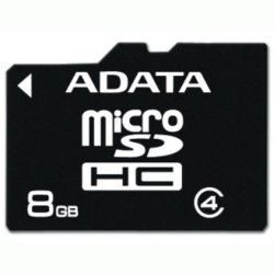 A-DATA Micro Secure Digital 8GB SDHC cena od 7,29 €