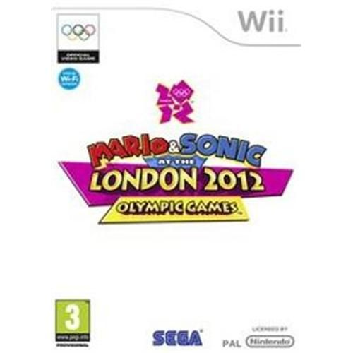 Nintendo Wii - Mario&Sonic at London 2012 olympic games