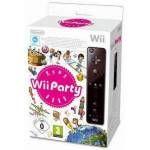 Príslušenstvo pre konzole NINTENDO Remote controller Black + Wii Party (NIWP155)
