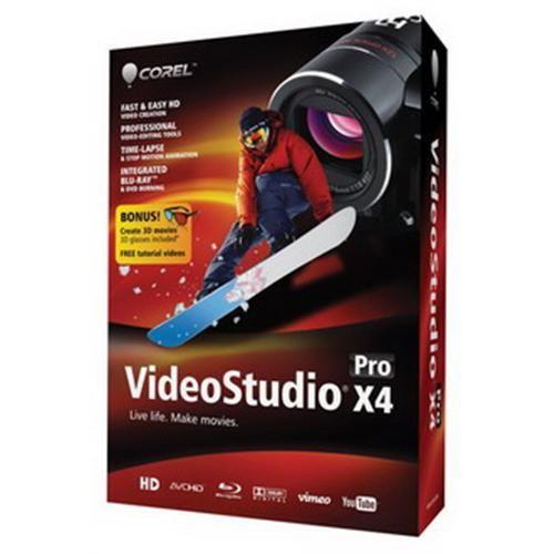 Software Corel VideoStudio Pro X4 Mini box ENG