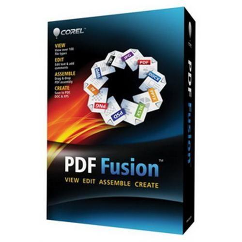 Software Corel PDF Fusion 1 Mini box