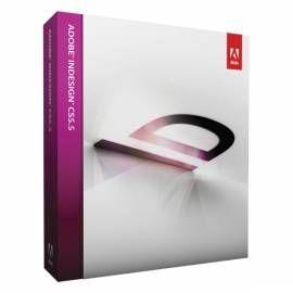 Software AdobeInDesign CS5.5 MAC CZ FULL