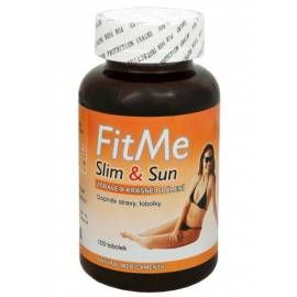 NATURAL MEDICAMENTS FitMe Slim & Sun 100 tob.