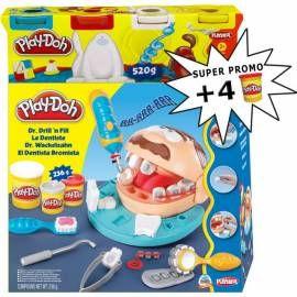 HASBRO Play-Doh Zubař 2 + 4 kelímky plastelíny zdarma