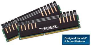 Patriot 4GB (2x2GB) Viper Xtreme Division 2 DDR3 2133MHz 9-11-9-27 1.65V, XMP