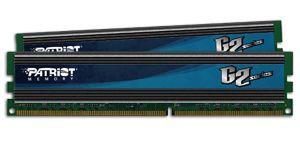 Patriot 4GB (Kit 2x2GB) G2 Series 1600MHz DDR3 CL9 1.65V, XMP
