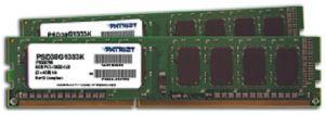 Patriot 8GB (Kit 2x4GB) 1333MHz DDR3 CL9 DIMM