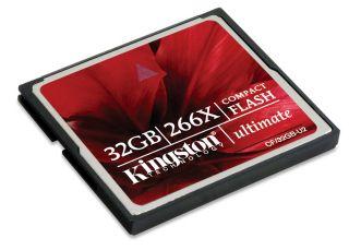 Kingston CompactFlash karta 32GB Ultimate 266x, 40 45MB s, MediaRECOVER SW