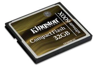 Kingston CompactFlash karta 32GB Ultimate 600x, 90/90MB/s, MediaRECOVER SW