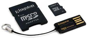 Kingston Mobility Kit G2 32GB micro SDHC karta 32GB Class 10+ USB čtečka+ ad.