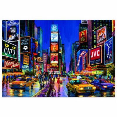 EDUCA Puzzle neonové TIMES SQUARE, NEW YORK 1000 dílků