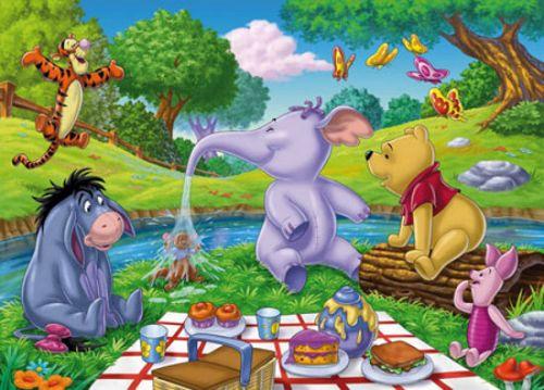 Clementoni Puzzle Picknick, 60 dílků