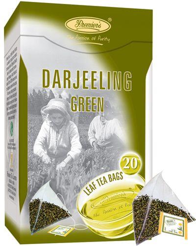 Premier´s DARJEELING pravý indický zelený čaj