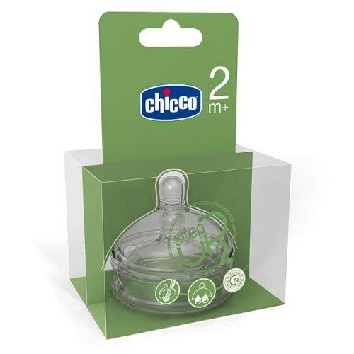 Chicco Step Up Dudlík silikon-2 otvory