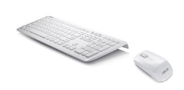 ASUS set kávesnice s myší W3000, bílý