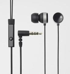 ELECOM Headset iPhone, Round-shape, černá