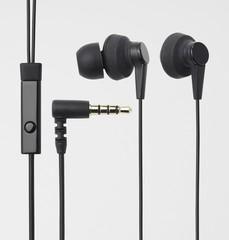 ELECOM Headset iPhone Large aperture driver, černá