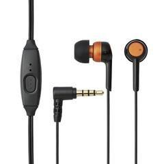 ELECOM Headset for Smartphone, Stereo, oranžová