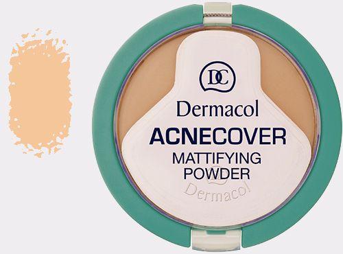 Dermacol Acnecover Mattifying Powder Porcelain Make-up 11g pre ženy Odstín Porcelain