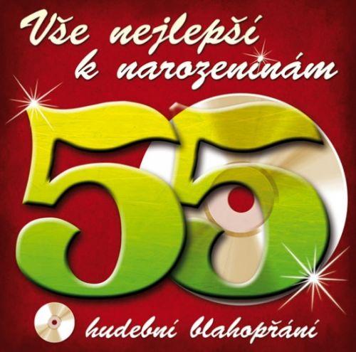 Popron Média Vše nejlepší k narozeninám! 55 - Hudební blahopřání - CD