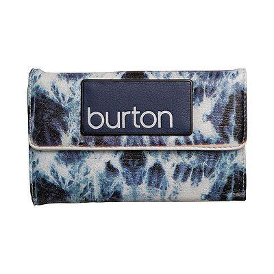 Peňaženka Burton Wms tri fold tie dye