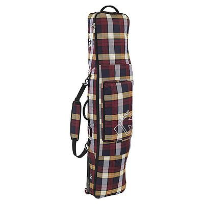 Vak Burton Wheelie gig bag estate plaid
