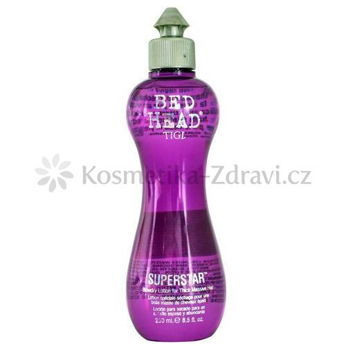 Tigi Bed Head Superstar stylingový přípravek pro objem (Blowdry Lotion for Thick Massive Hair) 250 ml