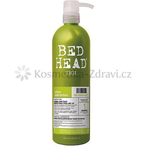 Tigi Bed Head Urban Antidotes Re-energize šampon pro normální vlasy (Shampoo) 250 ml