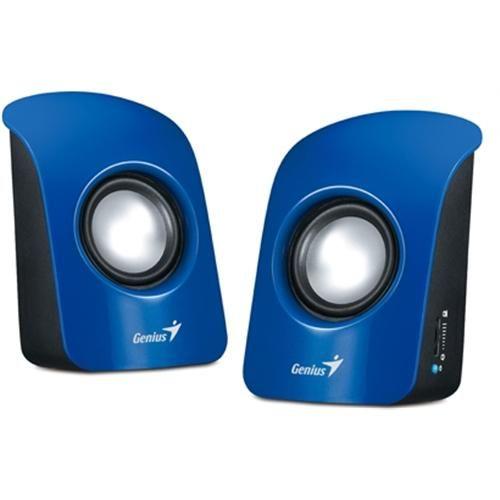 Repro Genius SP-U115, přenosné repro, USB napájení, modré
