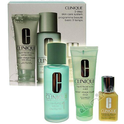 89f8c3d2ff Clinique Základní balíček pro suchou pleť 3-Step (Skin Care System) cena od  ...