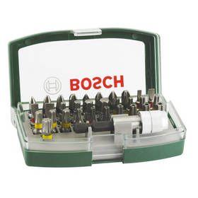 Sada Bosch 32ks šroubovacích bitů s barevným odlišením