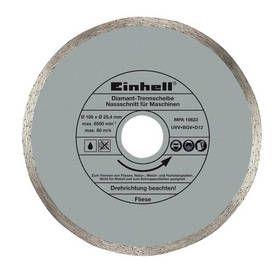 Einhell Koutouč diamantový 180x25,4x1,6 mm pro řezačku dlaždic BT-TC 600