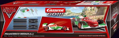 CARRERA GO Disney Cars 2 rozšírenie Francesco