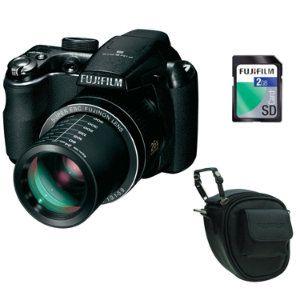 fuji FinePix S3300 - fotoaparát + brašňa + 2GB karta