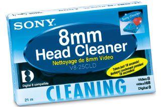 SONY V8-25CLDE 8mm čistící